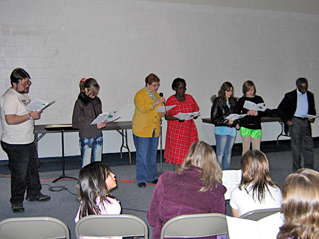 Wednesday Church Night: Robeson's Stand With Africa